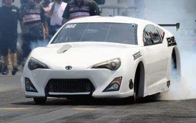 Gary White's unreal turbocharged 6-cylinder Toyota went all the way to the Pro Boost final round!