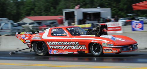 Mick Synder won in TS with his supercharged Corvette.