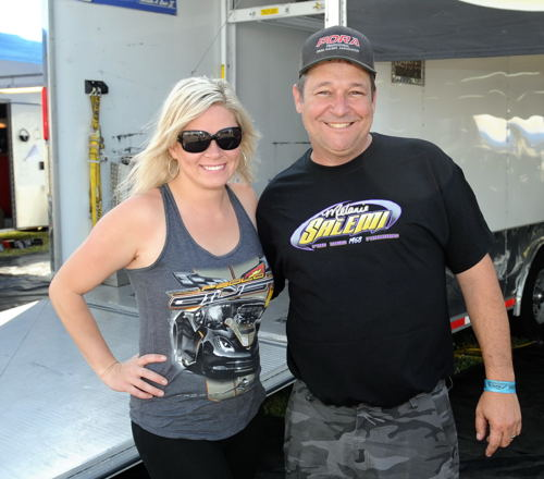 Canadian racers Melanie Salemi and Paolo Guist will both be entered at GBM this weekend.