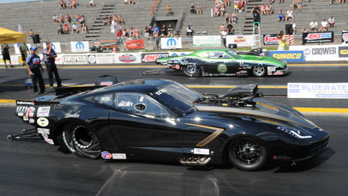 Paolo Giust prevailed in an upset during last years Mopar Canadian Nationals Pro Mod final round.