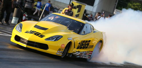 Defending 2015 Pro Mod Series champ Troy Coughlin earned his first win of the 2016 season.