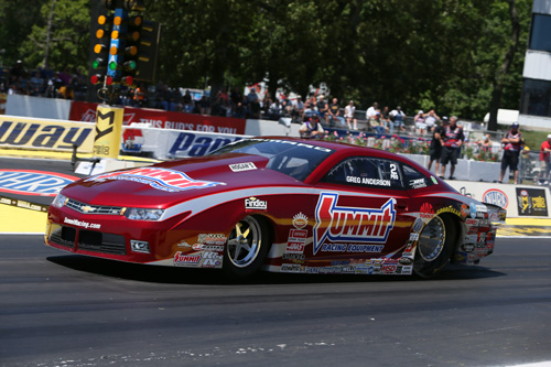 Greg Anderson keep the amazing undefeated season for KB Racing going - with another win in Pro Stock!
