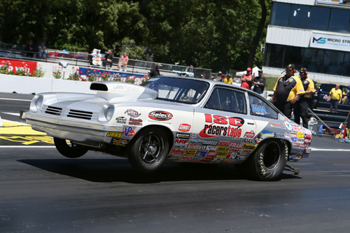 Super Gas went to David Northup's Chevy Vega.