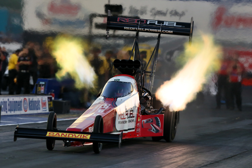 Shawn Langdon has now won back to back NHRA Top Fuel events.