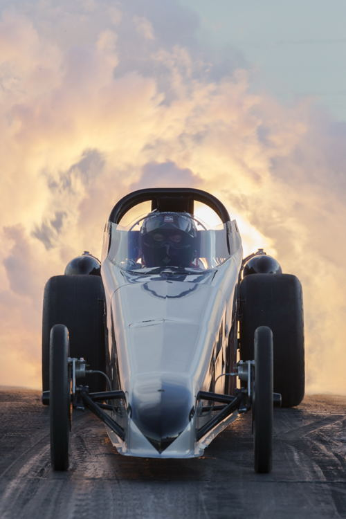"Neale Armstrong's ""Northern Warrior"" Jet Dragster"