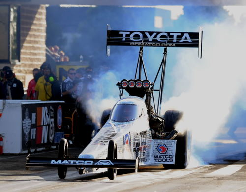 Popular Antron Brown won for 3rd time this season in Top Fuel