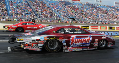 Greg Anderson roared to his 6th win of the season with his Camaro in Pro Stock
