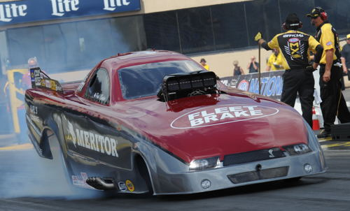 Paul Noakes' Mustang was just a bit off it's usual pace last weekend at Joliet.