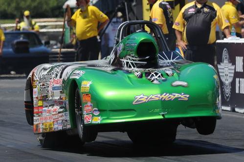Stalwart West-coast Sportsman racer Trevor Larson won in both S/C and S/G