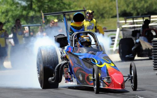 Trevor Ritchie's Top Dragster
