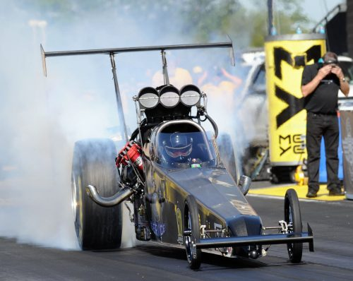 Joey Severence hit a record fast 279.15 mph while winning the Route 66 Nationals TAD title.
