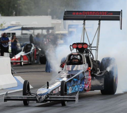 The Dark Side Racing TF dragster