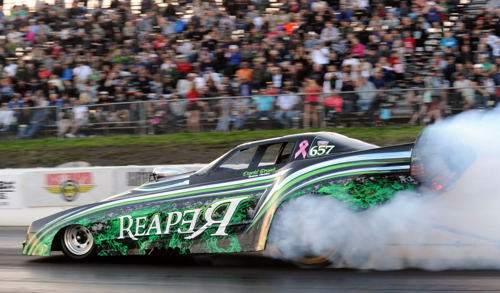 An excellent field of Pro 6.95 index cars was on hand including David Brandt's Reaper Firebird