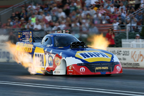 Ron Capps stretched out his points lead after winning for the 3rd time in 4 races