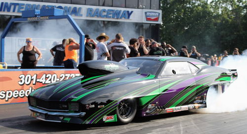 Pro Nitrous went to local racer and points leader - Tommy Franklin
