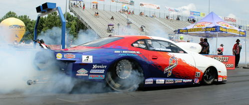 Number one qualifier John Montecalvo won in PDRA Extreme Pro Stock action