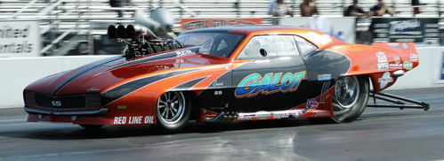 John Strickland won for the 4th time this season in Pro Boost class racing