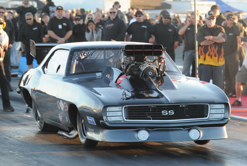 Chris Brohman advanced to his best finish ever in Pro Mod class competition.