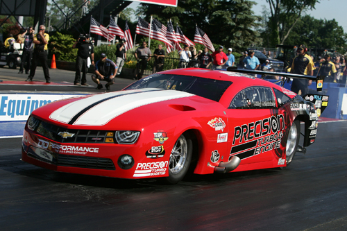 Billy Glidden's win at Norwalk was the second of his career in NHRA class racing
