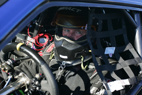 Edmonton's Jim Bell qualified on the bump for the very swift 16-car Pro Mod field