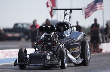 Kyle Harris will try to win his first ever USDRS T/D title with his cool '32 Bantam.