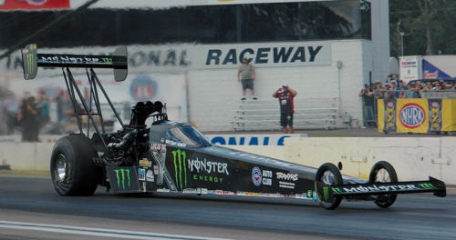 Brittany Force won for the 3rd time in her career in Top Fuel.
