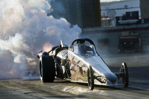 Neale Armstrong's - awesome Northern Warrior Jet dragster ran well and thrilled the crowd over the weekend.