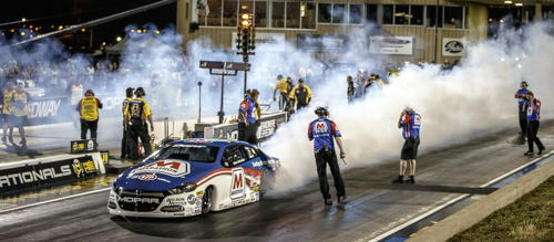 Allen Johnson's continued his amazing winning ways in Pro Stock at Denver's Mopar Mile High Nationals