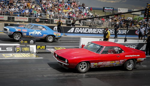 Two of Super Stock racing's best - Dan Fletcher and Jackie Alley faced off for the title.