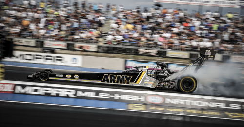 Tony Schumacher ended a rather long winless streak in Top Fuel