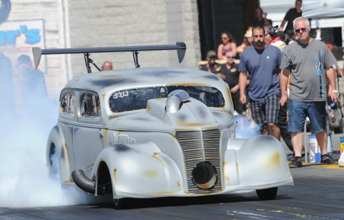 Just how cool is this '38 Chevy Pro-Charger powered car raced by Bob Robinson?