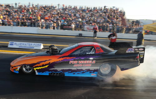 Dylan Hache had his show quality TAFC Firebird at Grand Bend last weekend.