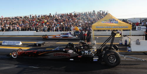 The Cambridge-based Lowdown Hot Rods team had a very formidable event - in fact bothers Austin and Brody Van Der Geld faced each other in the TD semi-final round!