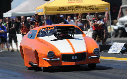 Last weekend Scott Wildgust was a test driver for the promising new TS Camaro owned by Louis Ouimette (from Timmins ON)