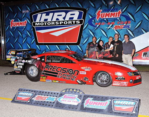 Billy Glidden won his first career IHRA national event race.