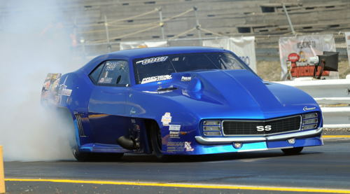 Top quality Pro Mod cars were entered at GBM - including Edmonton's Jim Bell