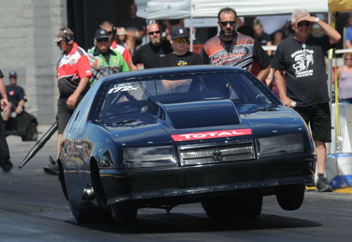Quebec's Cedric Beaulieu was the #1 qualifier in Strickland's TS - with a quick 6.407 (and 225.96 mph!)