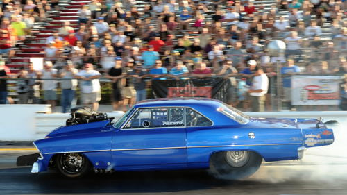 Oakville's Tony Presto was featured in both Outlaw 10.5 class final rounds!