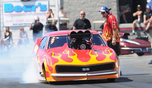 Spencer Hyde won Cayuga Dragway's weather deferred Outlaw 10.5 feature (on Friday night)