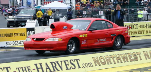 BC-based Steve Quigley had a nice event effort racing his S/ST Mustang - winning 3 round of competition.