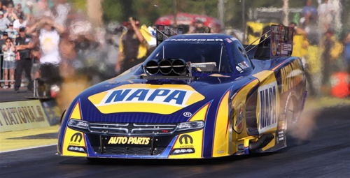 Ron Capps has advanced to his 8th FC final round of the season....