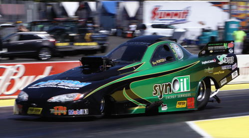 Congrats to the Red Deer-based TAFC owned by Geoff Goodwin and driven by Greg Hunter who hit career best times in round #1 at 5.493 secs and 263.10 mph.