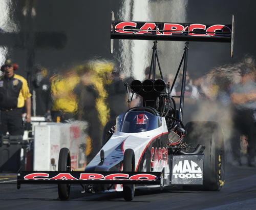 Steve Torrence ran a national record setting 3.671 seconds - to Q#1