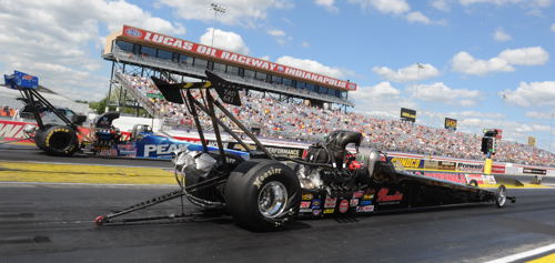 Shawn Cowie (from B.C.) came extremely close to winning drag racing's ultimate prize - placing runner-up in TAD>