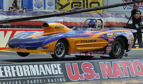Ken Mostowich once again made the long tow from Calgary to Indy for the US Nationals to race both his S/C Camaro and S/G Corvette.
