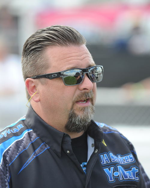 Jeff Perley (originally from Ottawa) remains a huge part of brain thrust behind the multi-car J&A Services drag racing team.