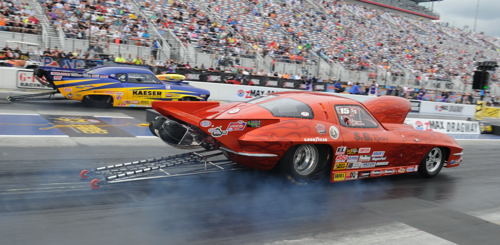 Quebec's Gerald Milette earned his first NHRA national event level win in Top Sportsman.