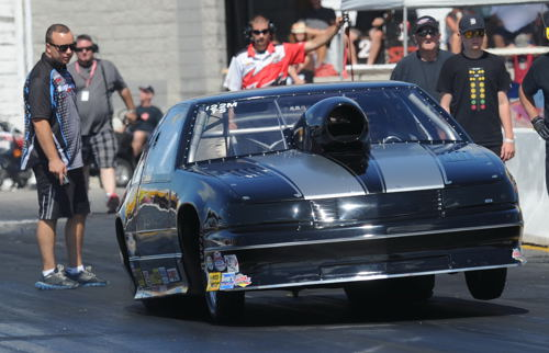 """Mike Leger won the event's consolation """"Top Eliminator"""" title."""