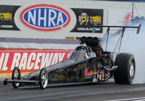 British Columbia's Shawn Cowie came painfully close to winning drag racing's ultimate prize - when he placed runner-up in TAD at Indy last Monday. Cowie lost a narrow 5.352 secs to 5.369 final round decision to Dan Page. Shawn had qualified #6 (5.284 secs) and had defeated Josh Hart, Duane Shields and Rich McPhillips in earlier U.S. Nationals TAD class competition.