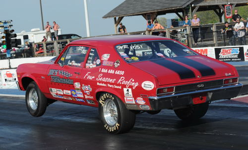 Niagara Falls Ontario racer Jim Thomson has clinched the 2016 points championship for the very popular Eastern Canadian-based Joe's Transmission TNT Super Series. Thomson was assured that season #1 ranking during the series' double header racing weekend held at Lancaster NY - over the Labour Day weekend.